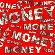 Stock Photo: Words Money from dollars