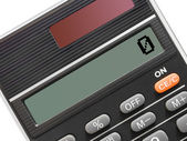 Calculator (close-up) — Stock Photo