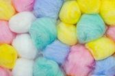 Cotton balls — Stock Photo