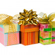 Royalty-Free Stock Photo: Three gifts