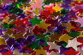 Mulicolored stars — Stock Photo