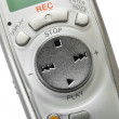 Macro of digital dictaphone — Stock Photo #4012637