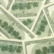 Stock Photo: Dollars - business background