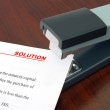 Office stapler and document Solution - Photo