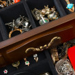 Jewelry in box — Stock Photo