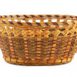 Empty wood basket — 图库照片