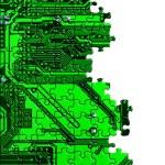 Computer conceptual background — Stock Photo