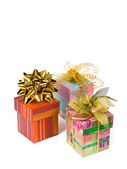 Three gifts — Stock Photo