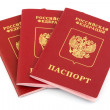 Russian passports — Stockfoto