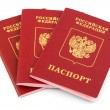 Russian passports — Stock Photo