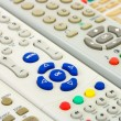 tv remote controls — Stock Photo