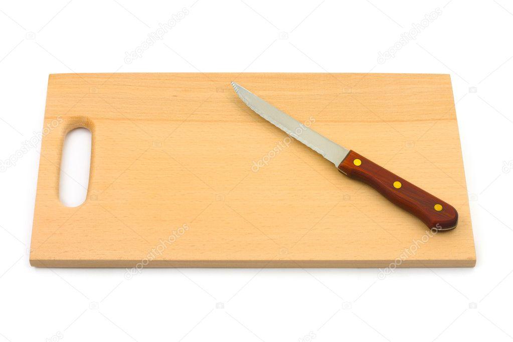 Knife and chopping board | Stock Photo © Nikolai Sorokin #