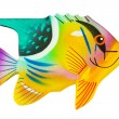 Toy exotic fish — Stock Photo #4217640