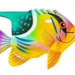 Toy exotic fish — Stock Photo