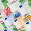 Euro money background — Stock Photo