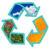 記号のリサイクル — ストック写真
