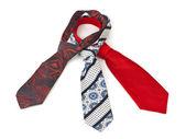 Three necktie — Stock Photo