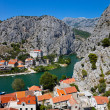 Royalty-Free Stock Photo: Town Omis in Croatia