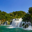 Waterfall KRKA in Croatia — Stock Photo #4255352