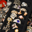 Stock Photo: Jewelry in box