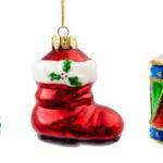 クリスマスの飾りのセット — ストック写真
