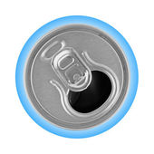 Opened metal can — Stock Photo