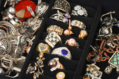 Jewelry in box — Stock Photo