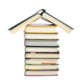 House made of books — Stock Photo