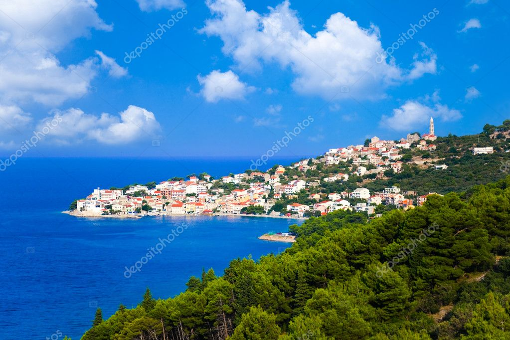 Town in Croatia - abstact travel background — Stock Photo #4254756