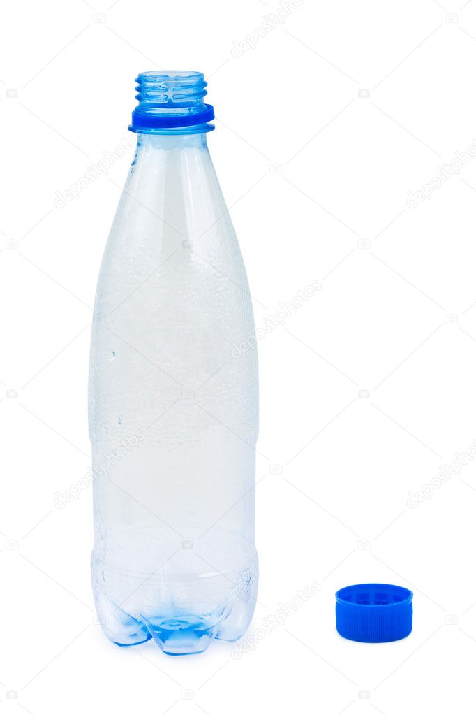 Empty water bottle — Stock Photo © Violin #4258987