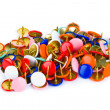 Heap of multicolored pins — Stock Photo #4262547