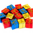 Multicolored gifts — Stock Photo #4264592