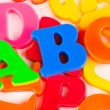 Letters ABC — Stock Photo