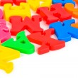 Multicolored toy letters — Stock Photo #4265198