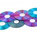 Computer disks — Stock Photo