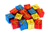 Presentes coloridos — Foto Stock