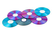 Computer disks — Stock Photo