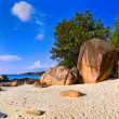 Royalty-Free Stock Photo: Panorama of beach Anse Lazio, Seychelles