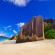 Beach Source d'Argent at Seychelles — Stock Photo #4278585