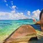 Stones on tropical beach — Stock Photo #4278722