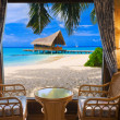 Hotel room and tropical landscape - 