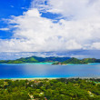 Island Praslin at Seychelles - Stock Photo