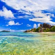 Beach Source d'Argent at Seychelles — Stock Photo #4279834