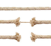 Set of ropes — Stock Photo