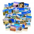 Stack of summer beach shots — Stock Photo #4283584