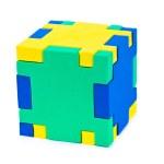 Cube puzzle — Stock Photo