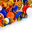 Heap of multicolored pins — Stock Photo #4283691