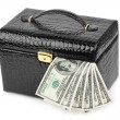 Royalty-Free Stock Photo: Money in case