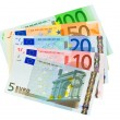 Euro money banknotes — Stockfoto #4284290