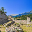 Ruins of old town in Mystras, Greece — Stock Photo #4284917